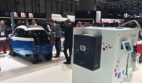 e-mobile am Autosalon Genf